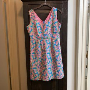 Lilly Pulitzer Vintage Strawberry Print Dress